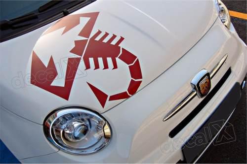 Adesivo Faixa Capo Teto Fiat 500 3m 50023