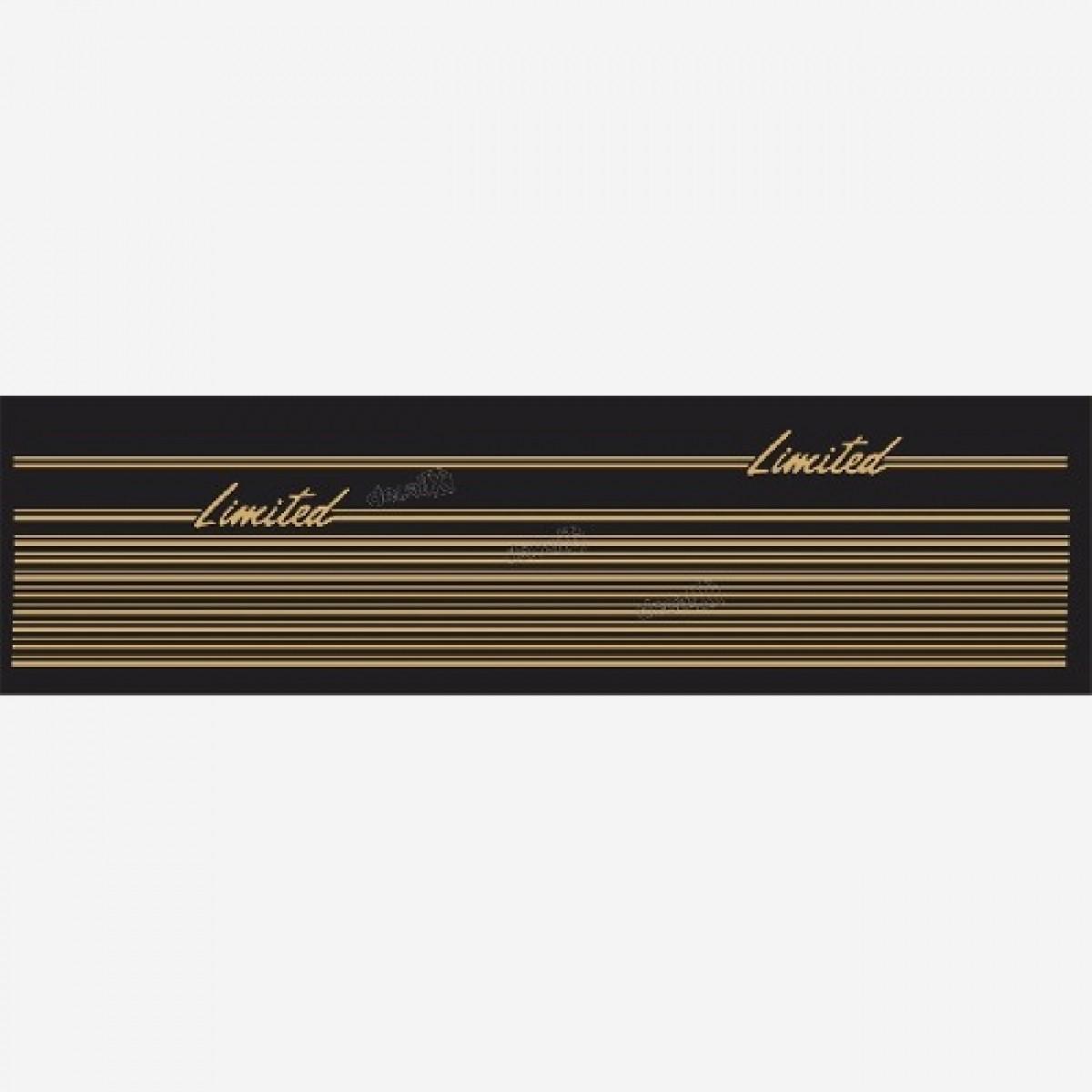 Adesivo Faixa Cherokee Limited Dourada - Decalx