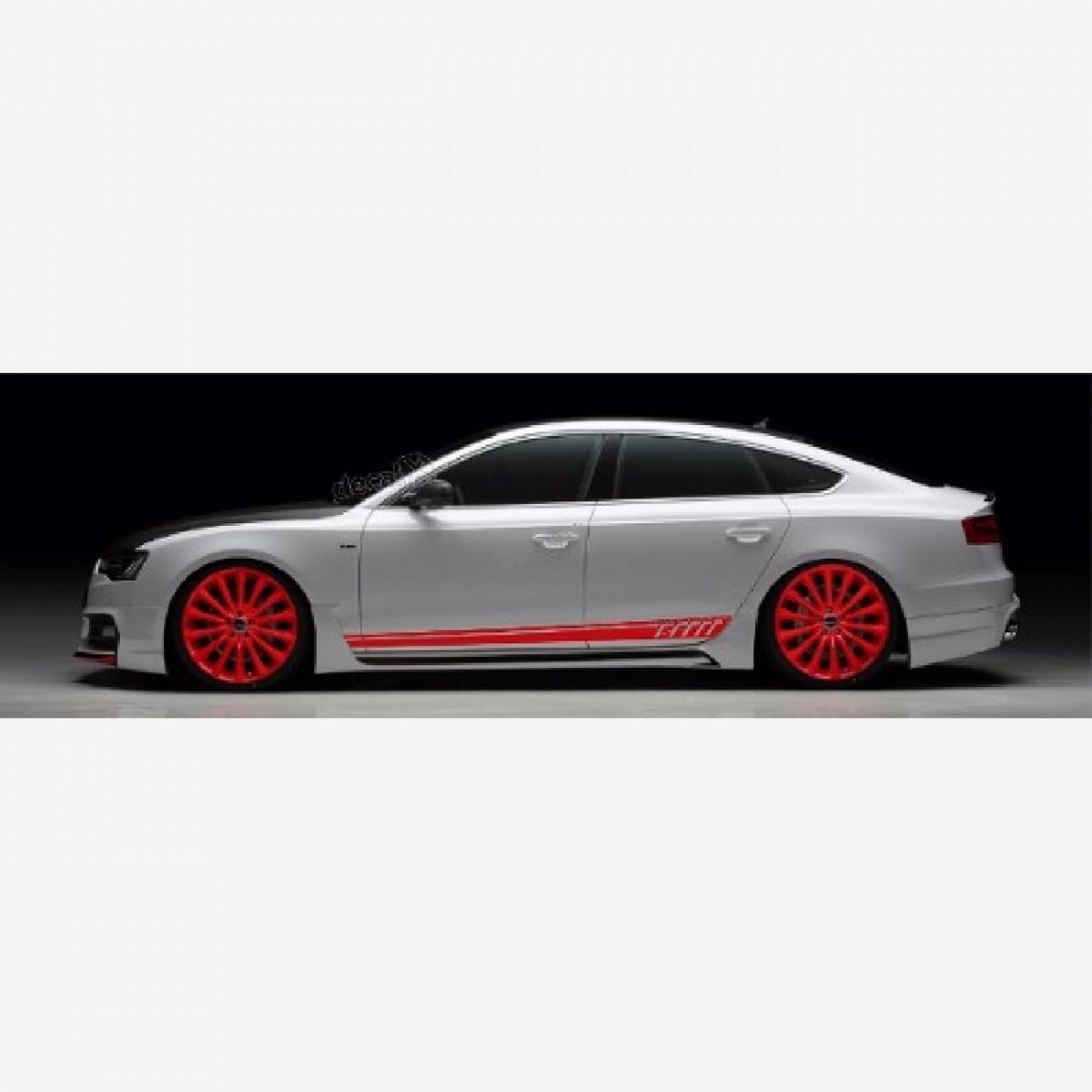 Adesivo Faixa Lateral Audi A1 A501