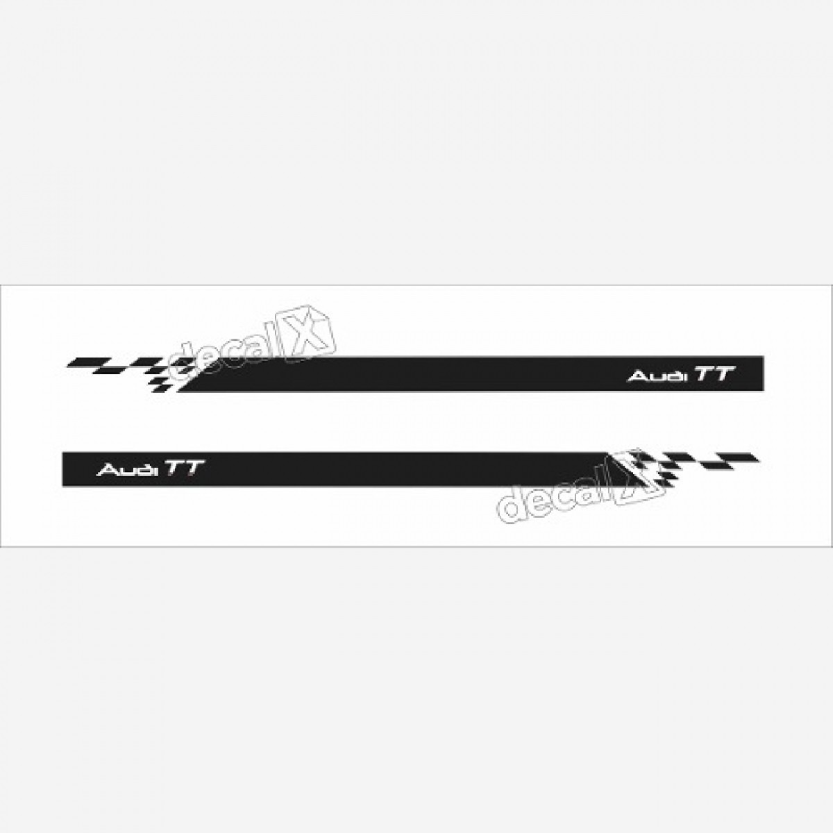 Adesivo Faixa Lateral Audi Tt Tt10