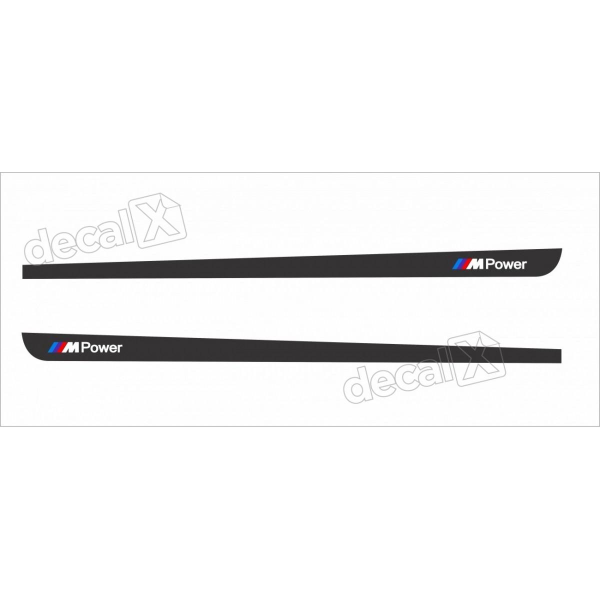 Adesivo Faixa Lateral Bmw X3 Sport X32