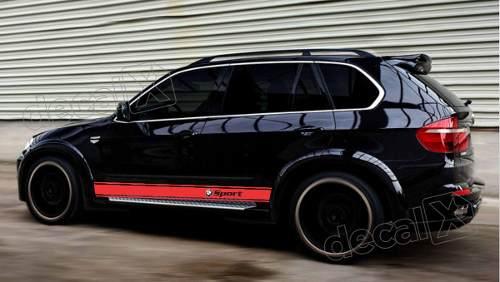 Adesivo Faixa Lateral Bmw X5 Sport X57