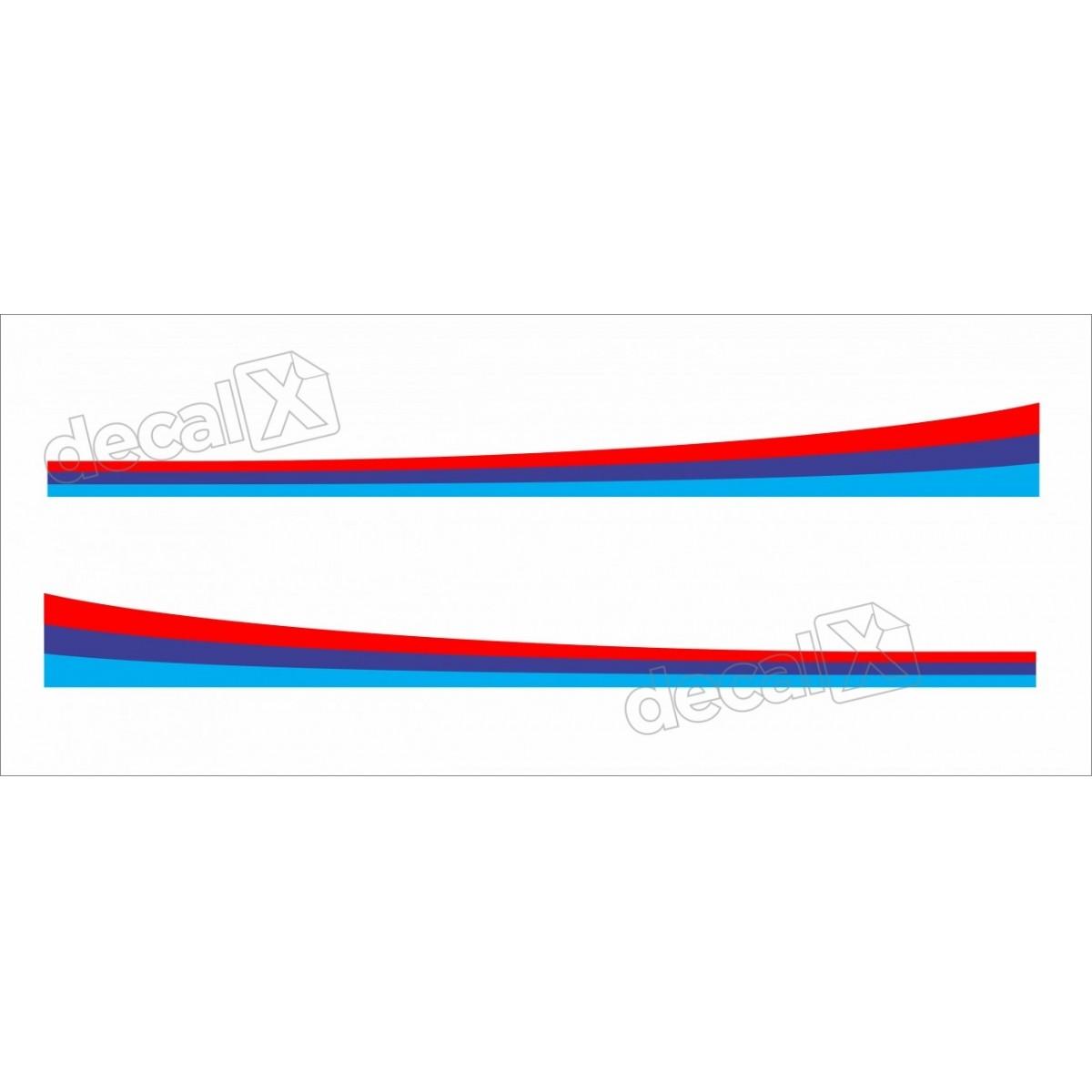 Adesivo Faixa Lateral Bmw X5 X51