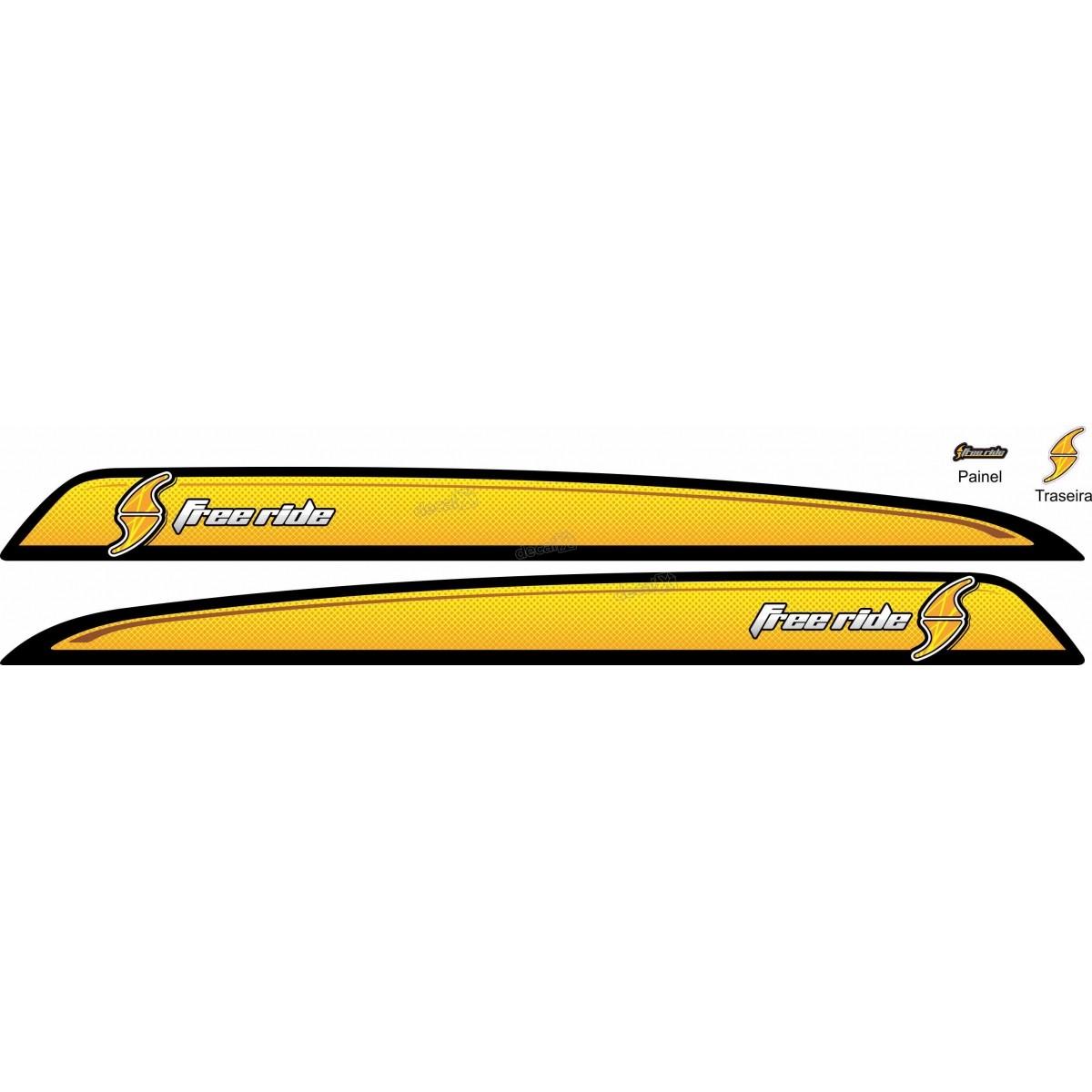 Adesivo Faixa Lateral Chevrolet Tracker Free Ride Tkr003
