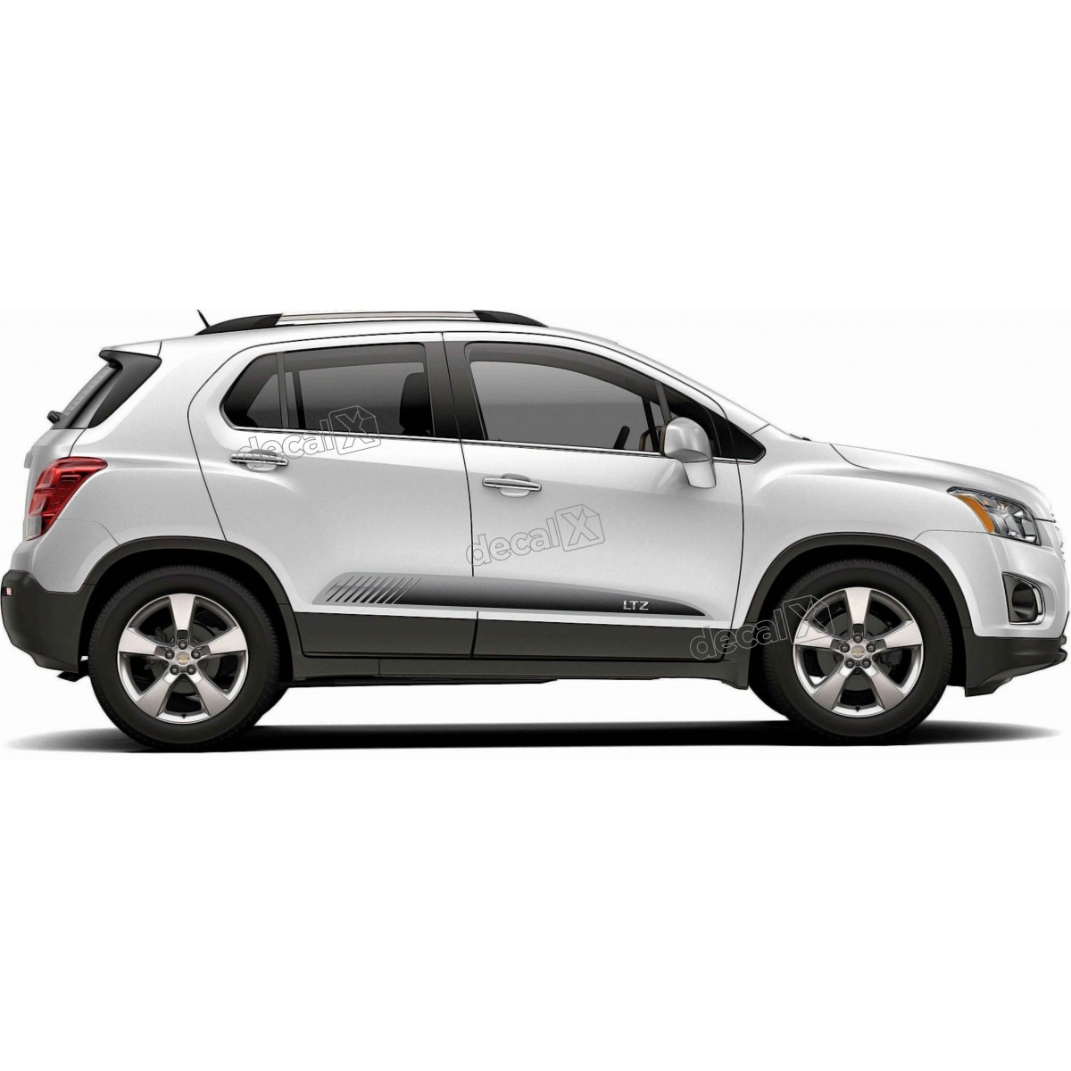 Adesivo Faixa Lateral Chevrolet Tracker Personalizado Tkr006