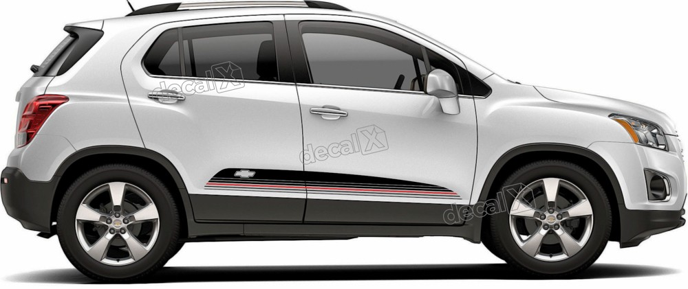 Adesivo Faixa Lateral Chevrolet Tracker Personalizado Tkr009