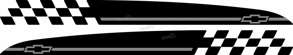 Adesivo Faixa Lateral Chevrolet Tracker Personalizado Tkr010