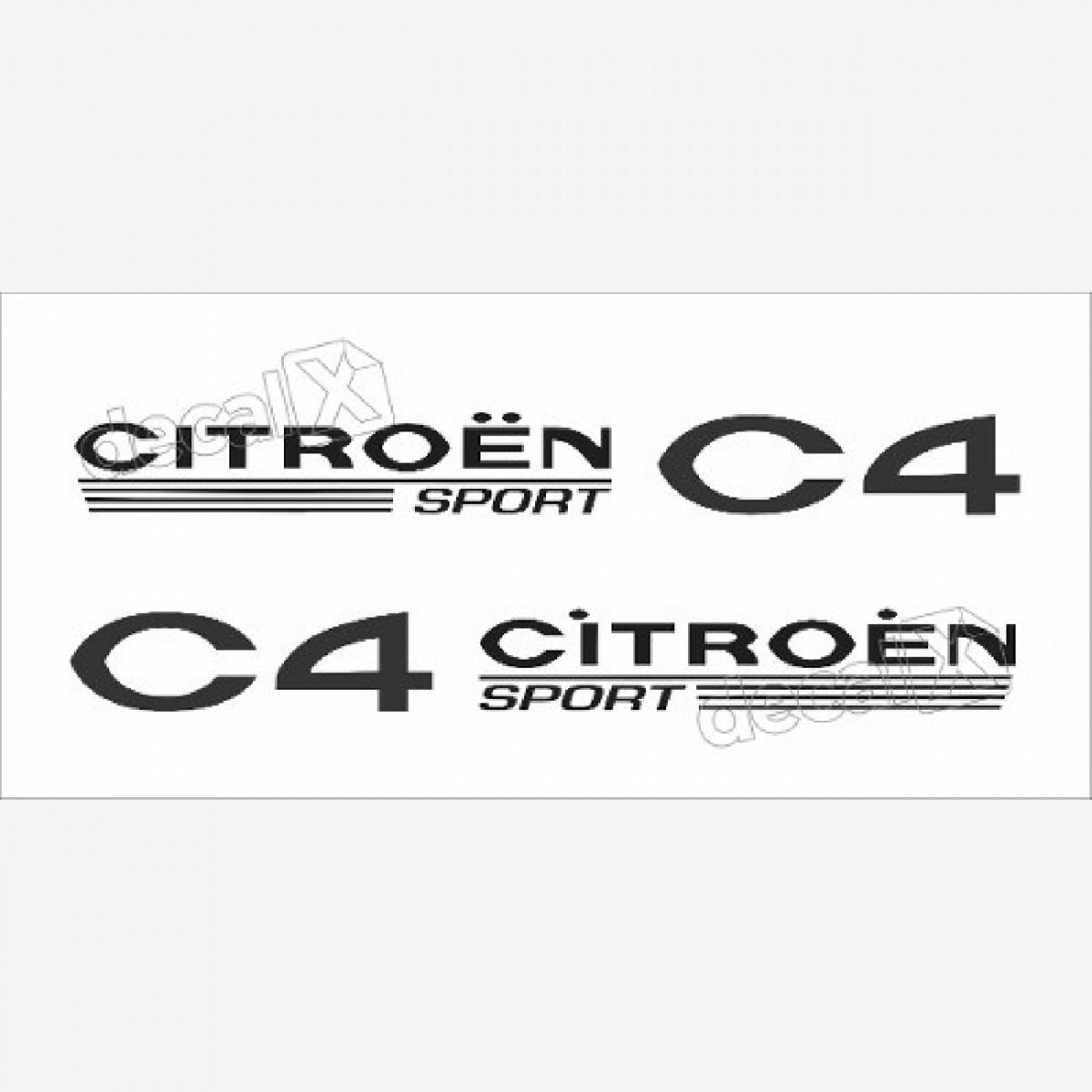 Adesivo Faixa Lateral Citroen C4 Sport - Decalx