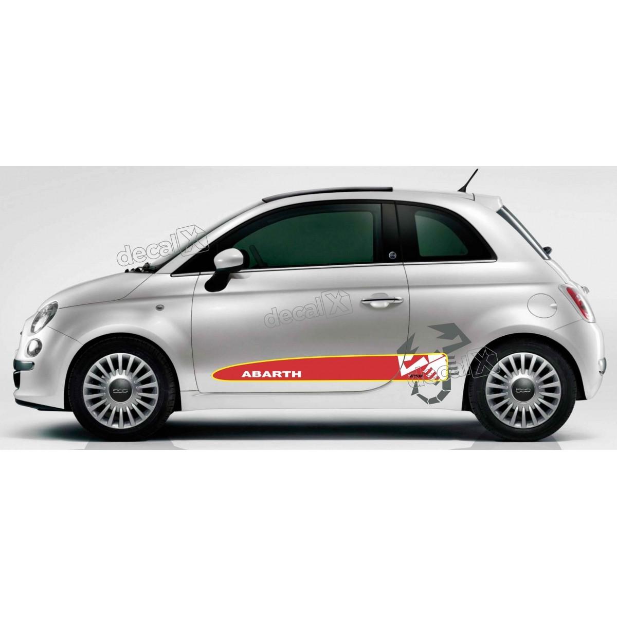 Adesivo Faixa Lateral Fiat 500 50029
