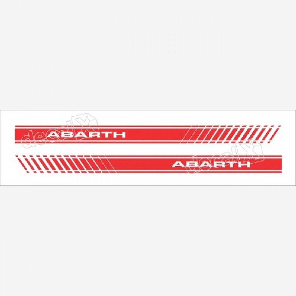 Adesivo Faixa Lateral Fiat Coupe Abarth Coupe01