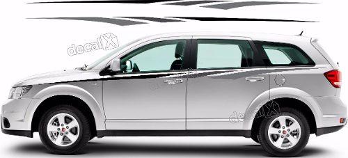 Adesivo Faixa Lateral Fiat Freemont Frmt05