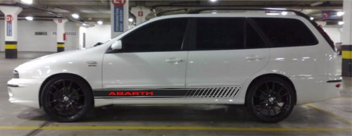 Adesivo Faixa Lateral Fiat Marea Mreaw06