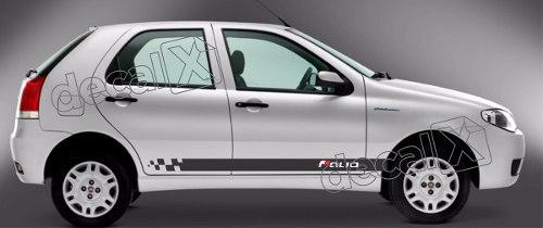 Adesivo Faixa Lateral Fiat Palio Ploc01