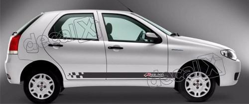 Adesivo Faixa Lateral Fiat Palio Ploc02