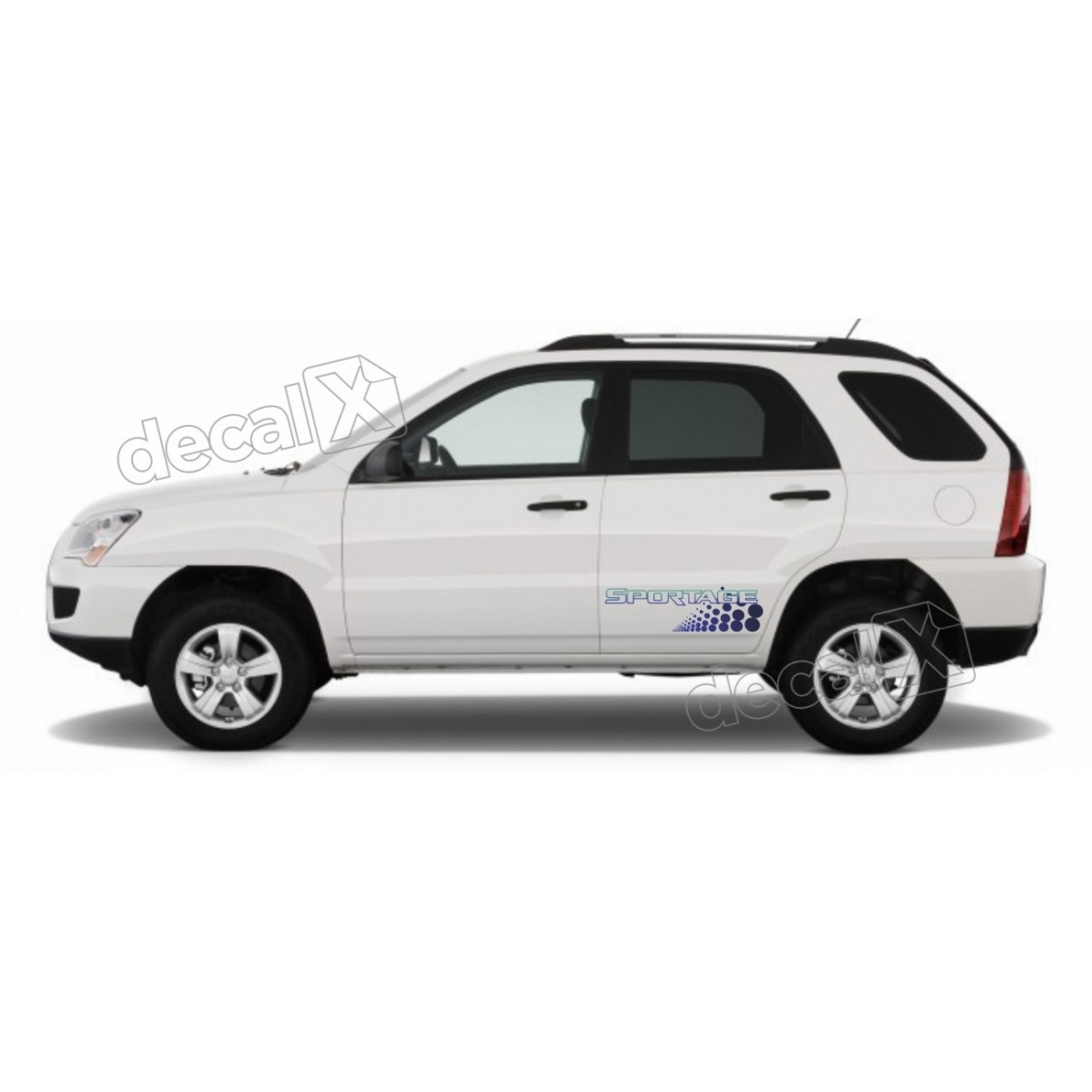 Adesivo Faixa Lateral Fiat Palio Sporting Racing Spt03