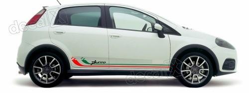 Adesivo Faixa Lateral Fiat Punto Pntof17