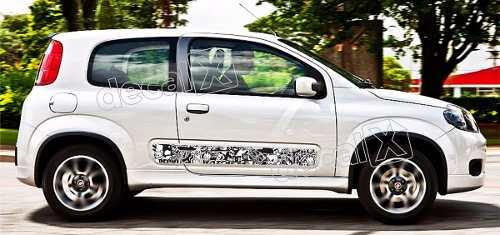 Adesivo Faixa Lateral Fiat Uno Personalizado Unoa5