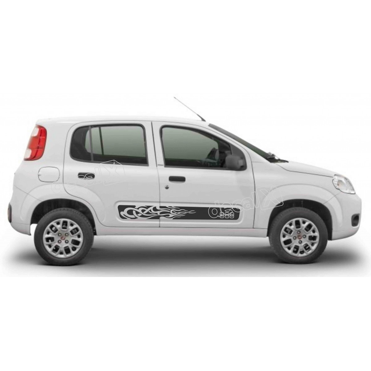 Adesivo Faixa Lateral Fiat Uno Unoc10
