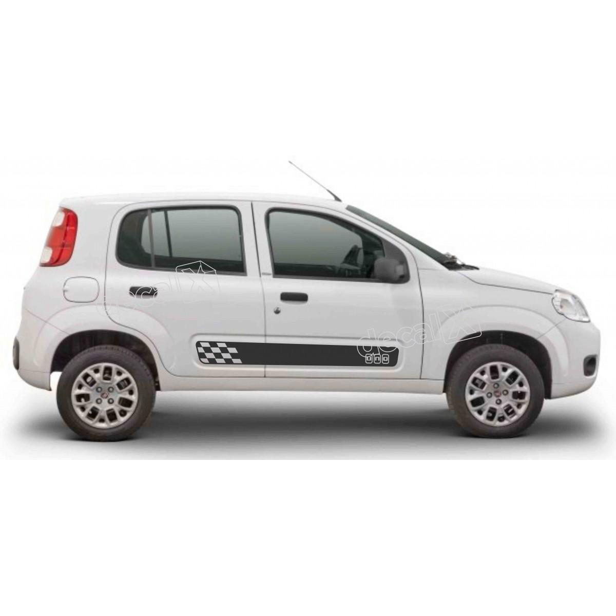 Adesivo Faixa Lateral Fiat Uno Unoc6