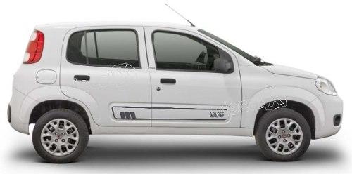 Adesivo Faixa Lateral Fiat Uno Unoc8