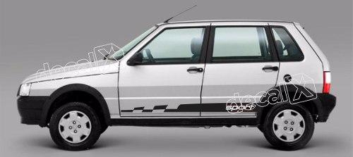 Adesivo Faixa Lateral Fiat Uno Unof10