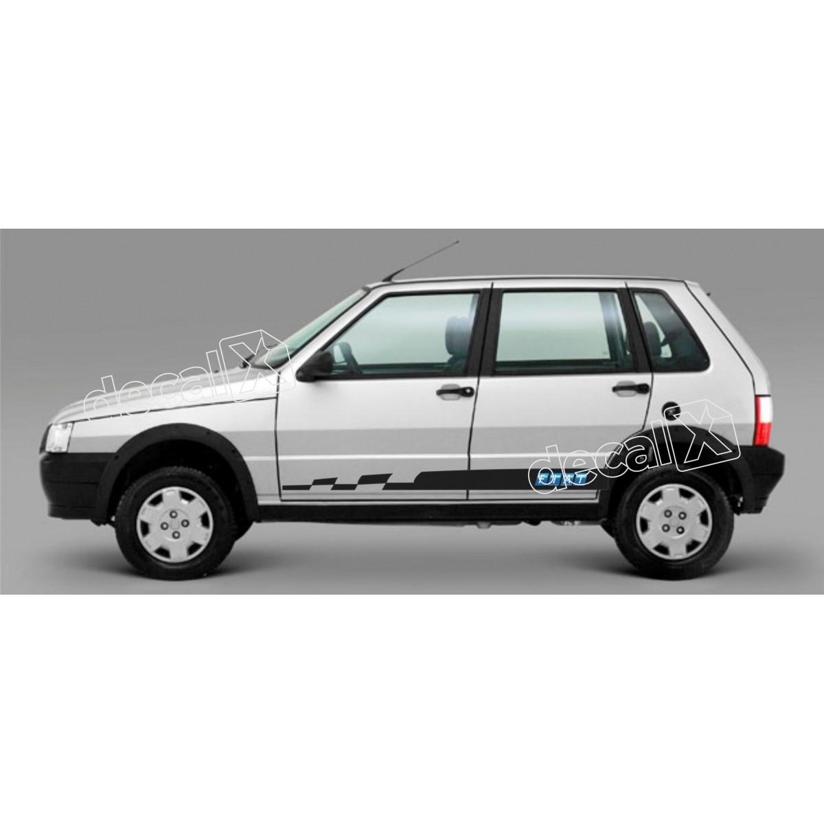 Adesivo Faixa Lateral Fiat Uno Unof2
