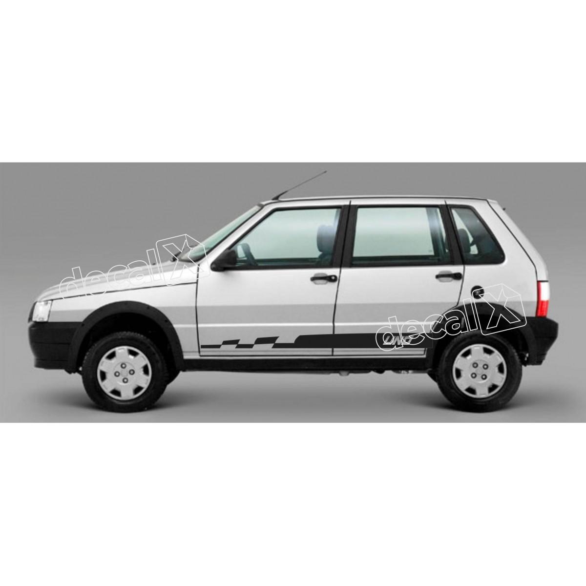 Adesivo Faixa Lateral Fiat Uno Unof9