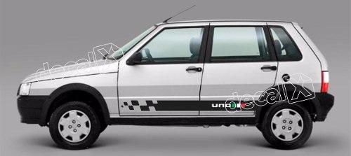 Adesivo Faixa Lateral Fiat Uno Unog7