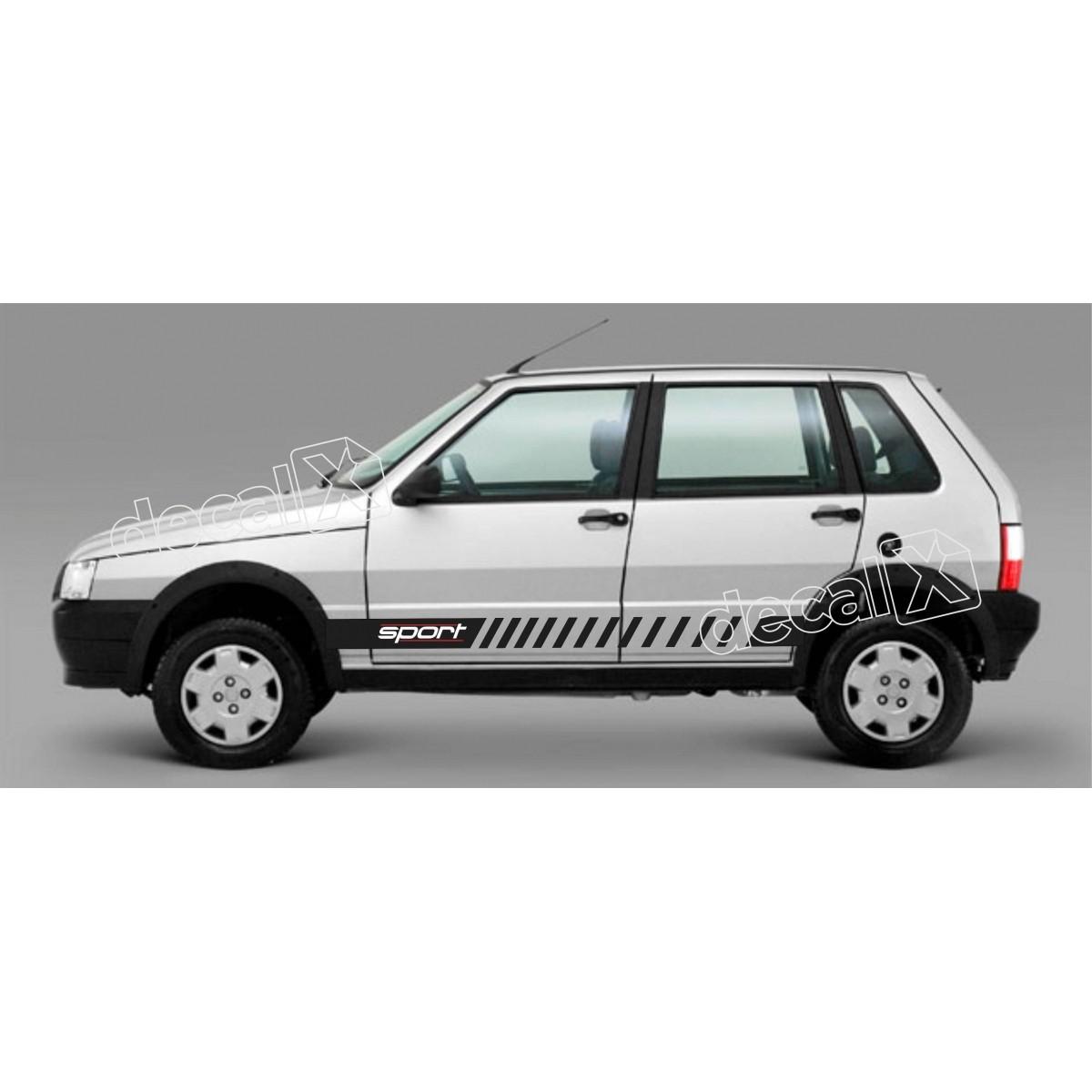 Adesivo Faixa Lateral Fiat Uno Unoh10