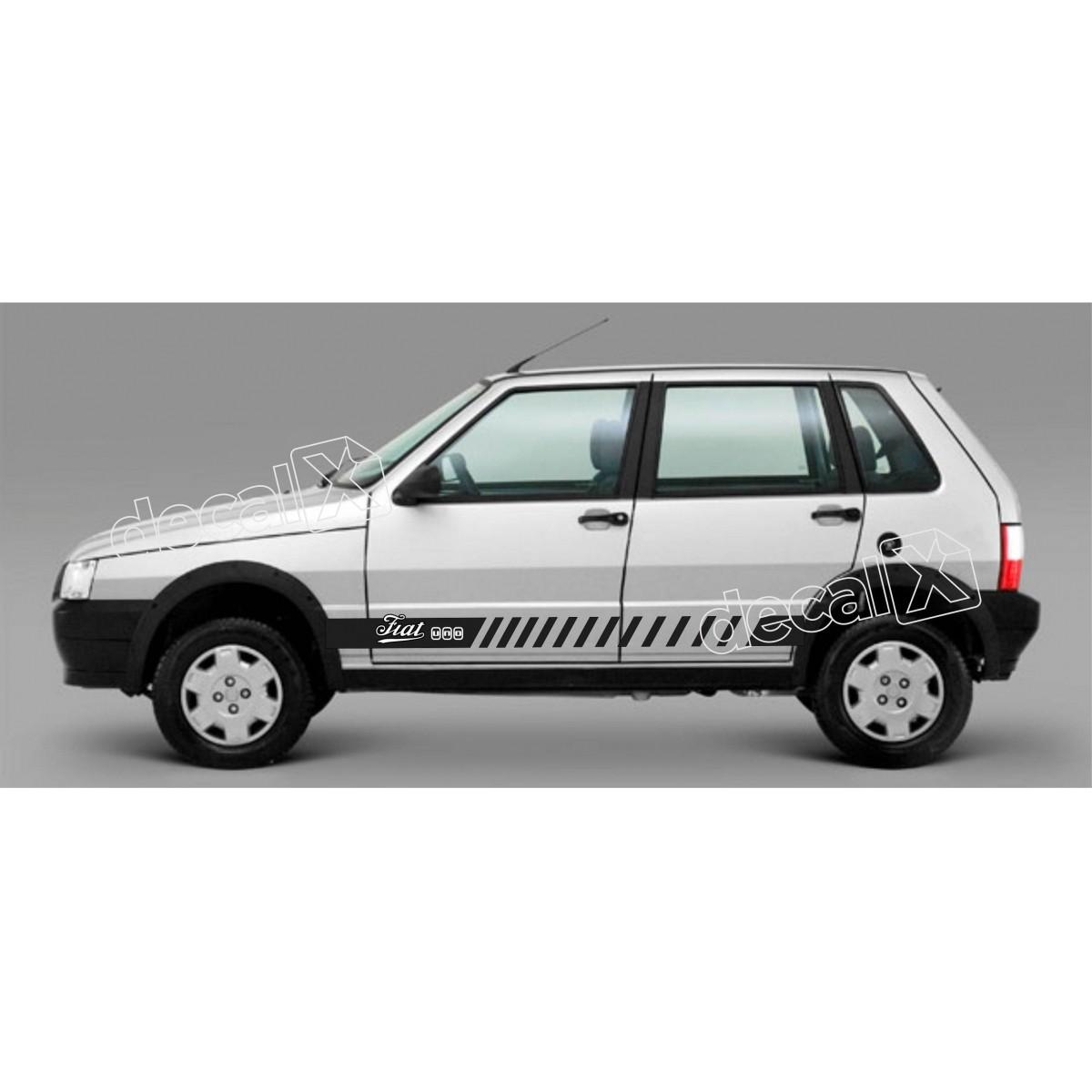 Adesivo Faixa Lateral Fiat Uno Unoh5