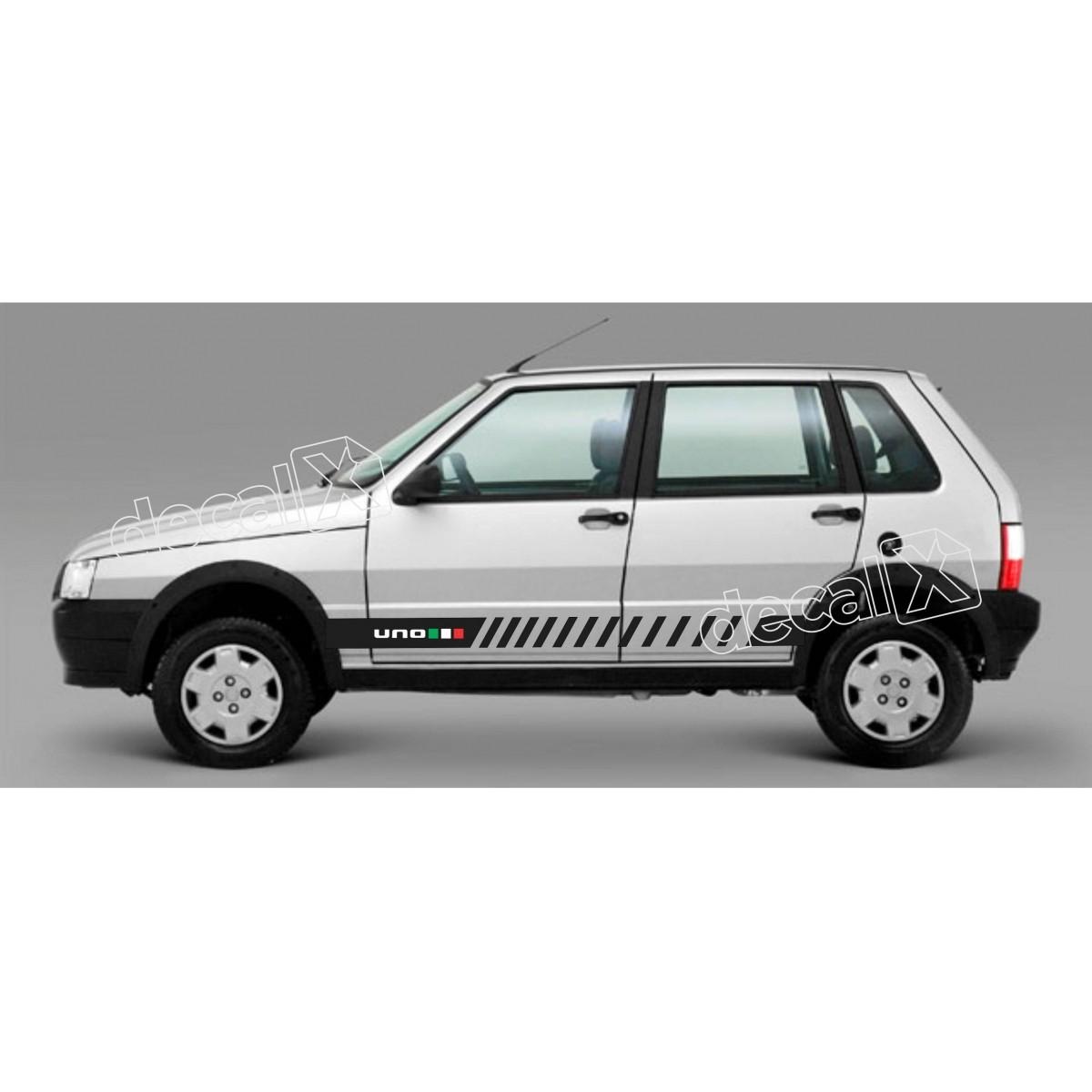 Adesivo Faixa Lateral Fiat Uno Unoh7