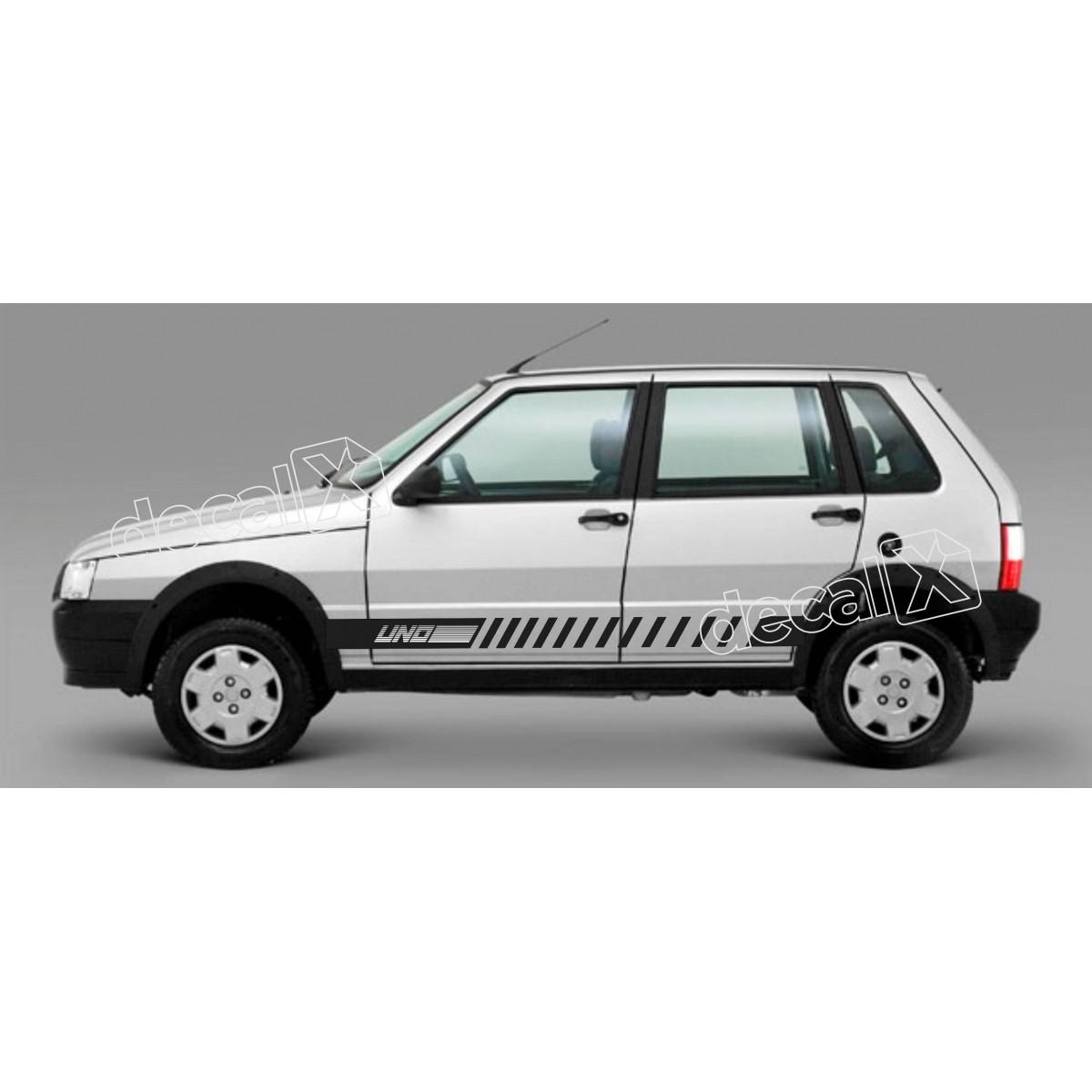 Adesivo Faixa Lateral Fiat Uno Unoh9