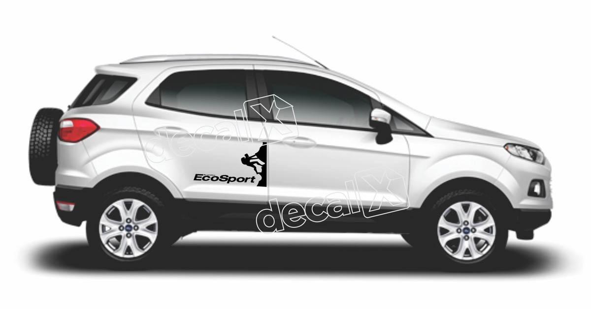 Adesivo Faixa Lateral Ford Ecosport Eco01