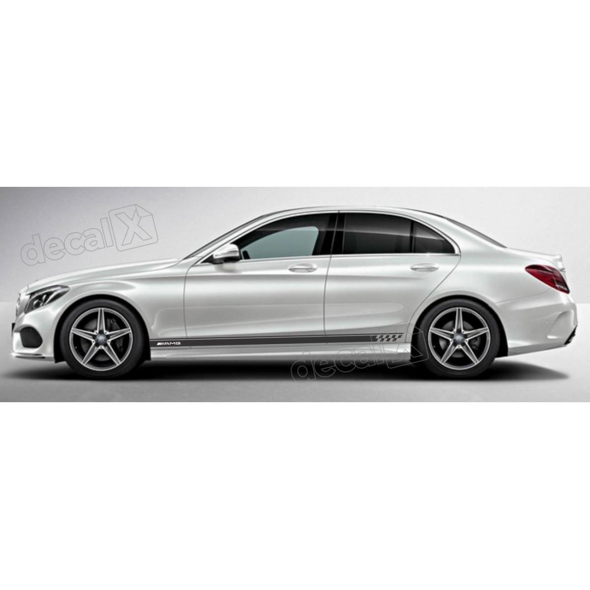Adesivo Faixa Lateral Mercedes 3m A25