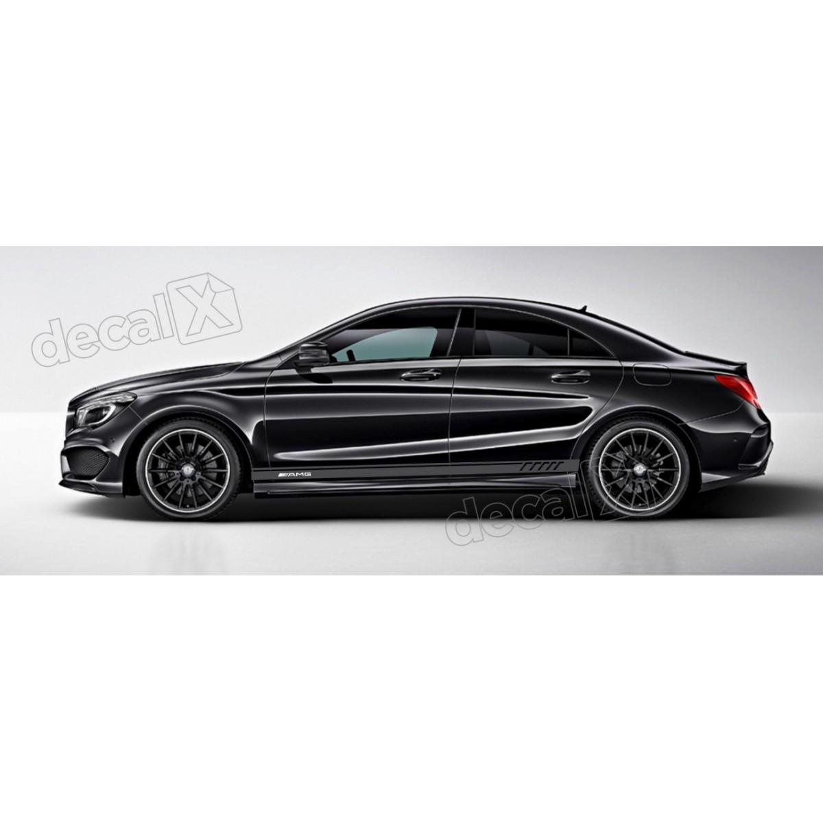 Adesivo Faixa Lateral Mercedes 3m A26