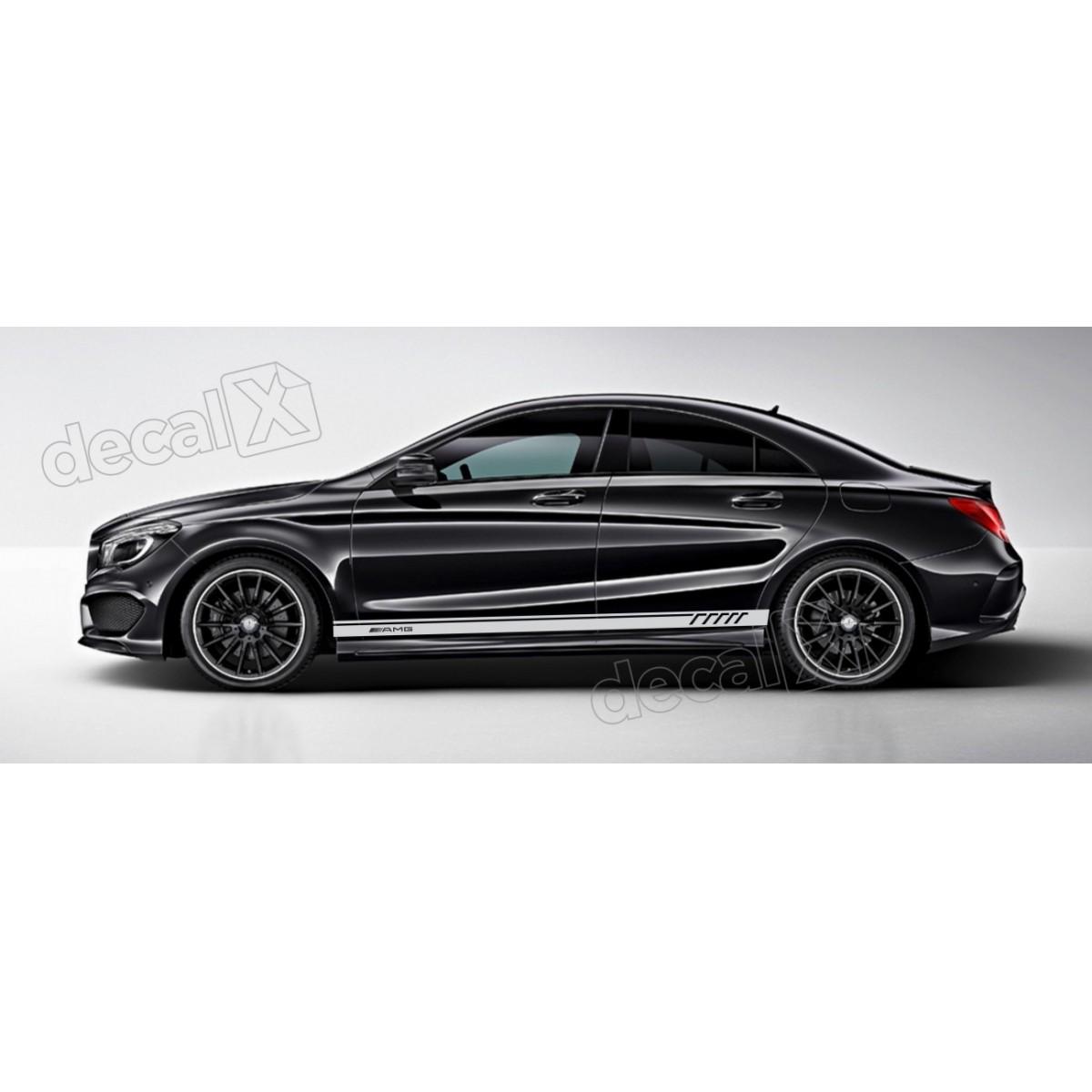 Adesivo Faixa Lateral Mercedes 3m A27