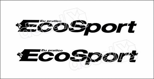 Adesivo Faixas Ford Ecosport 3m Eco002