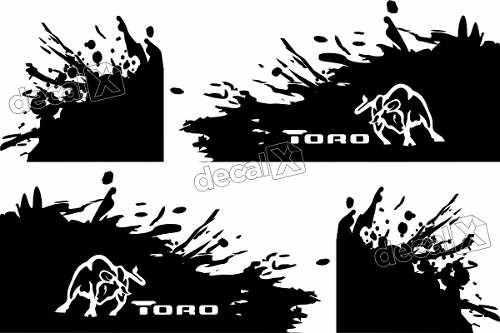 Adesivo Fiat Toro Faixa Lateral Paralama Tor05