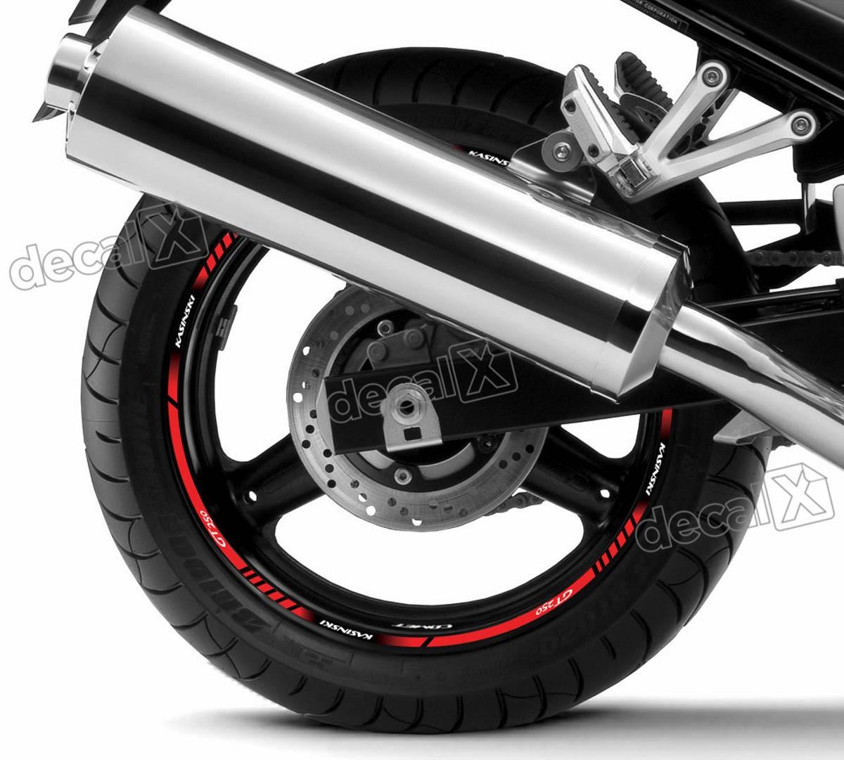 Armario De Parede Pequeno ~ Adesivo Friso Refletivo Roda Moto Kasinski Comet Gt 250 Fr01 Adesivos para motos& Adesivos