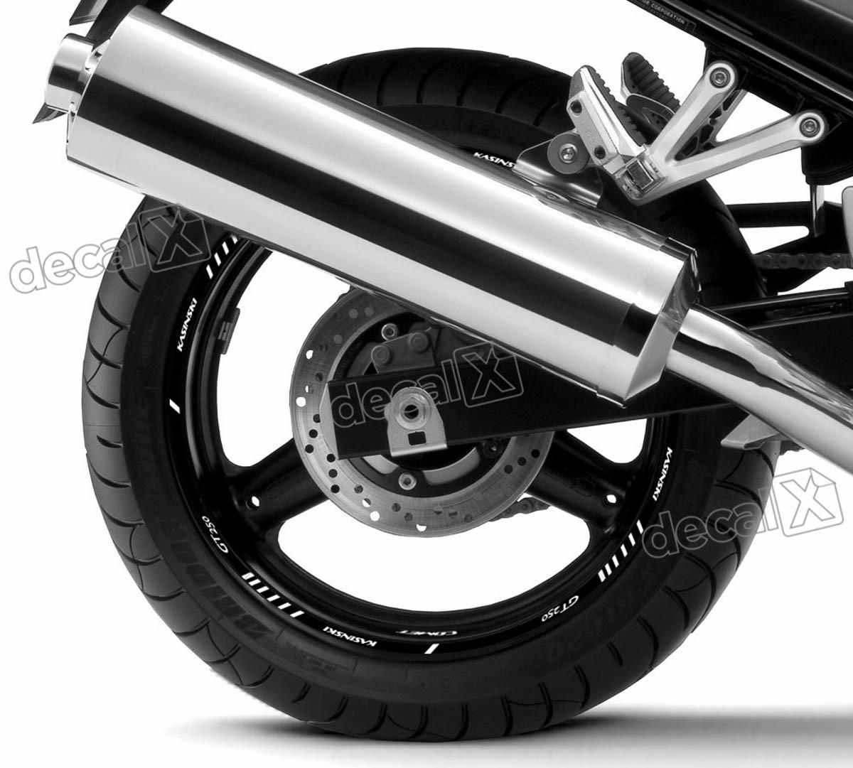 Adesivo Friso Refletivo Roda Moto Kasinski Comet Gt 250 Fr02