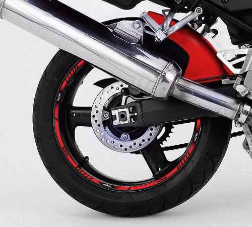 Adesivo Friso Refletivo Roda Moto Triumph Daytona 955i Fri10