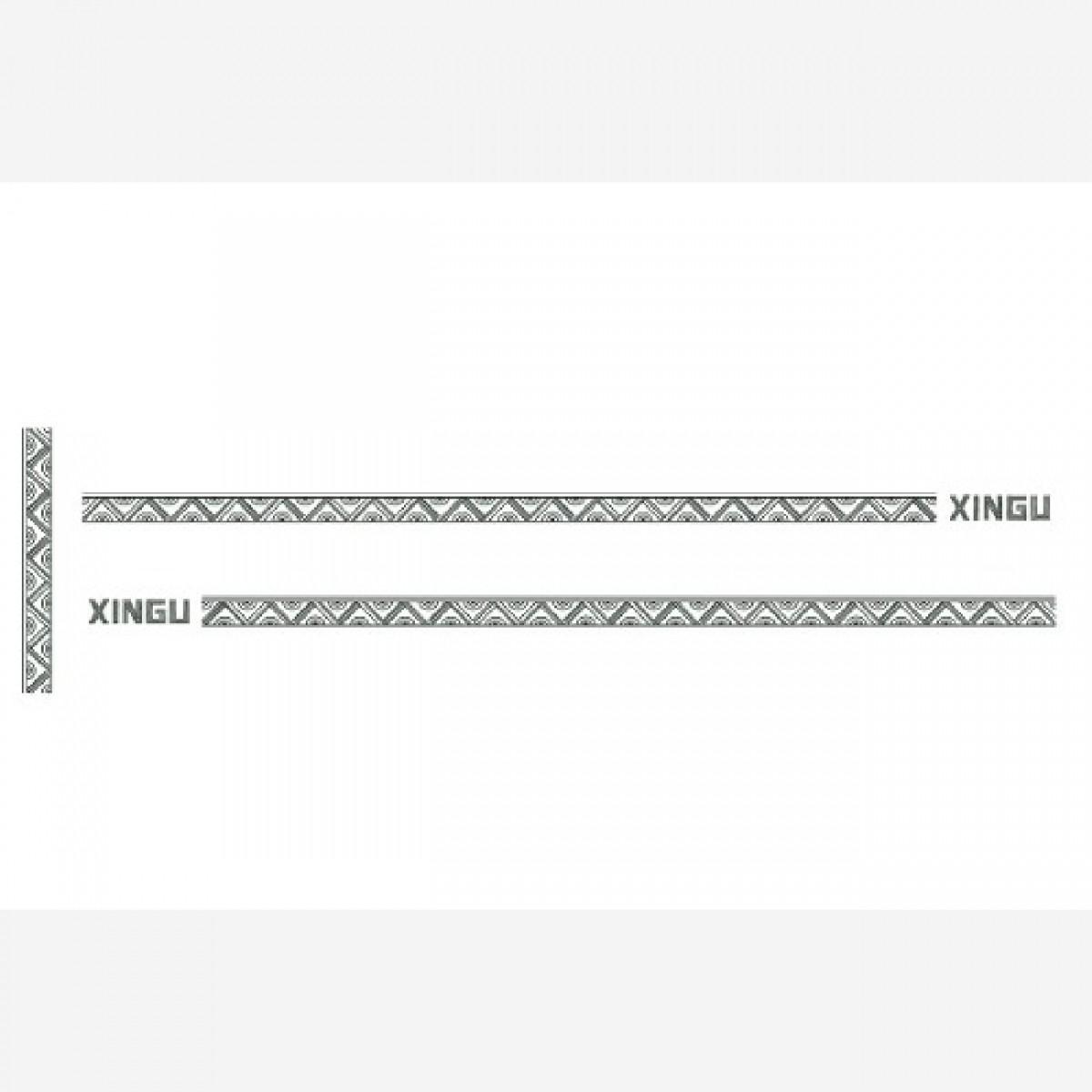Adesivo Logo Faixa Fiat Doblo Xingu Kit Completo