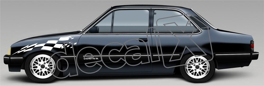 Adesivo Paralama Chevrolet Chevette Pl005