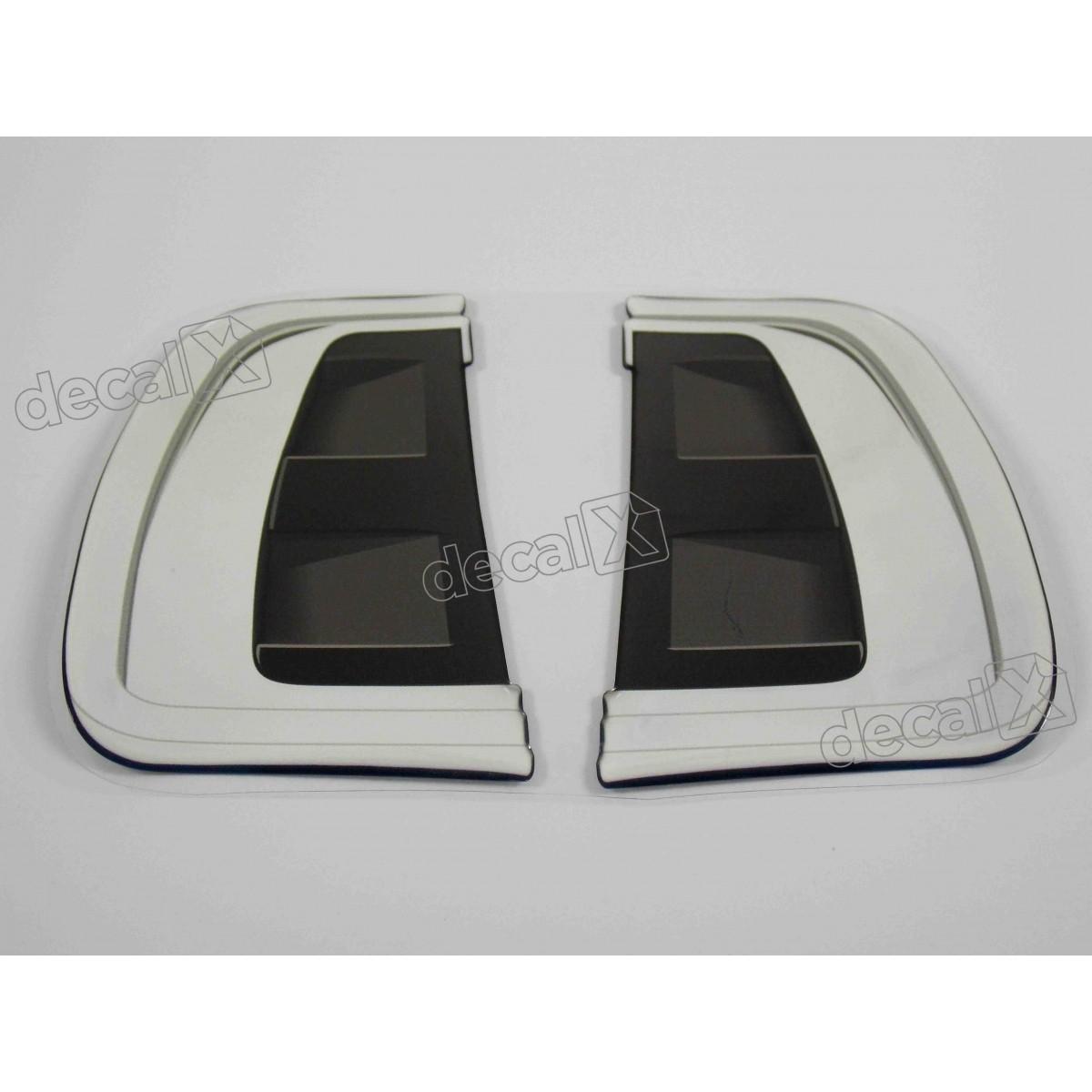 Adesivo Paralama Toyota Hilux Resinado Par01