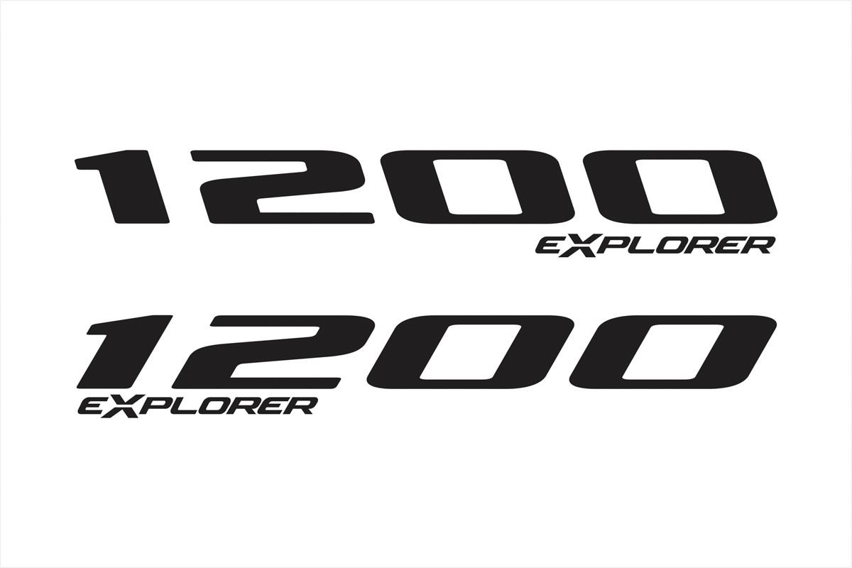 Adesivo Tanque Aba Triumph Tiger Explorer 1200 Tg041