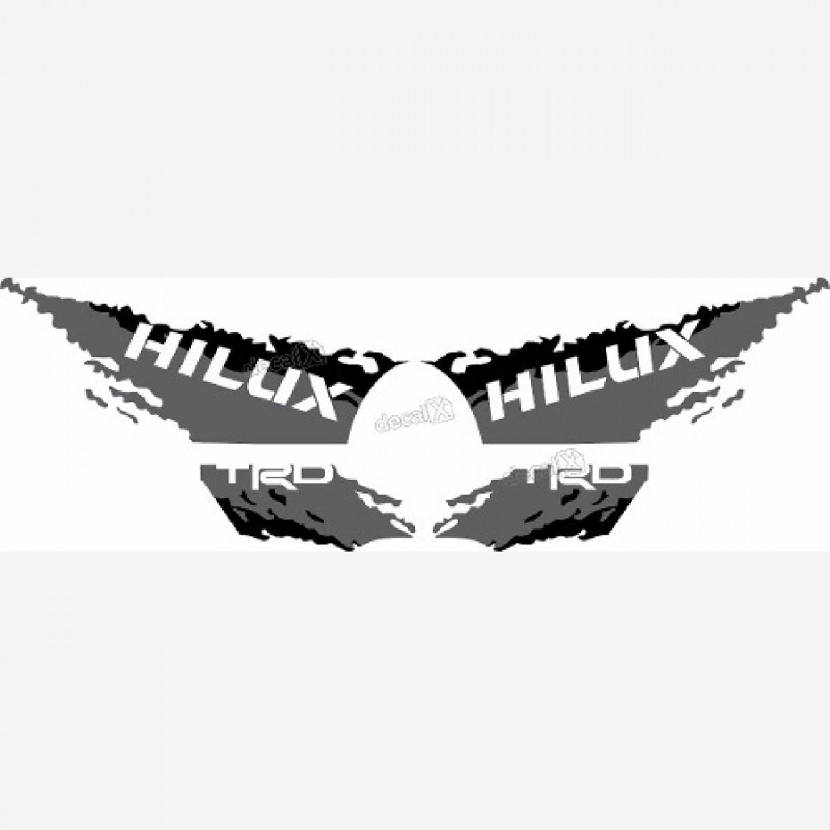Adesivo Toyota Hilux 2016 Trd Faixa Lateral 3m Hl169
