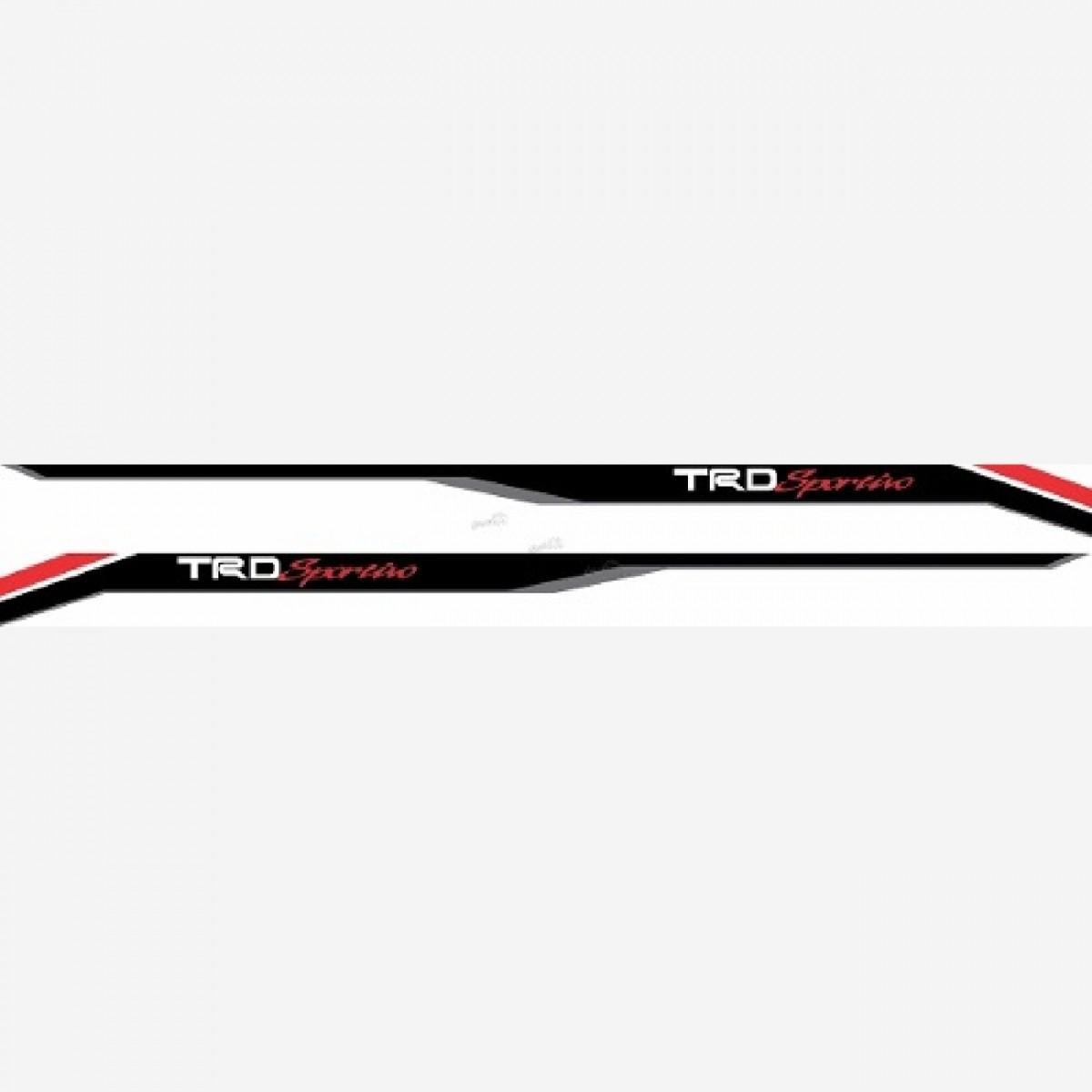 Adesivo Toyota Hilux 2016 Trd Sportivo Faixa Lateral Hl1616