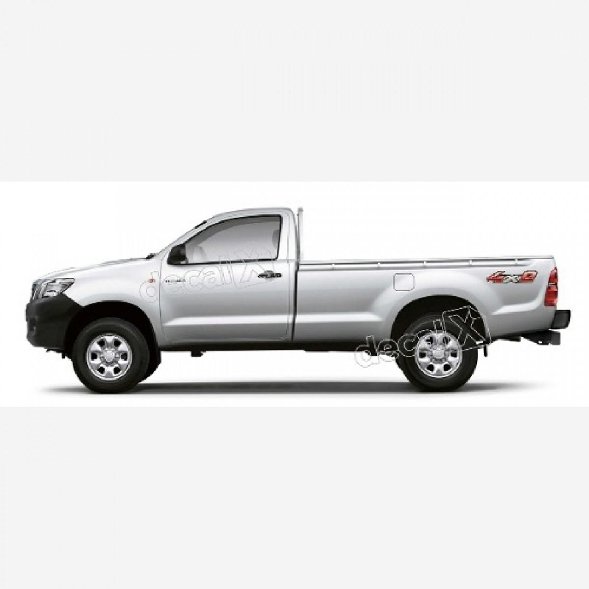 Adesivo Toyota Hilux 4x2 2009 A 2012 Decalx