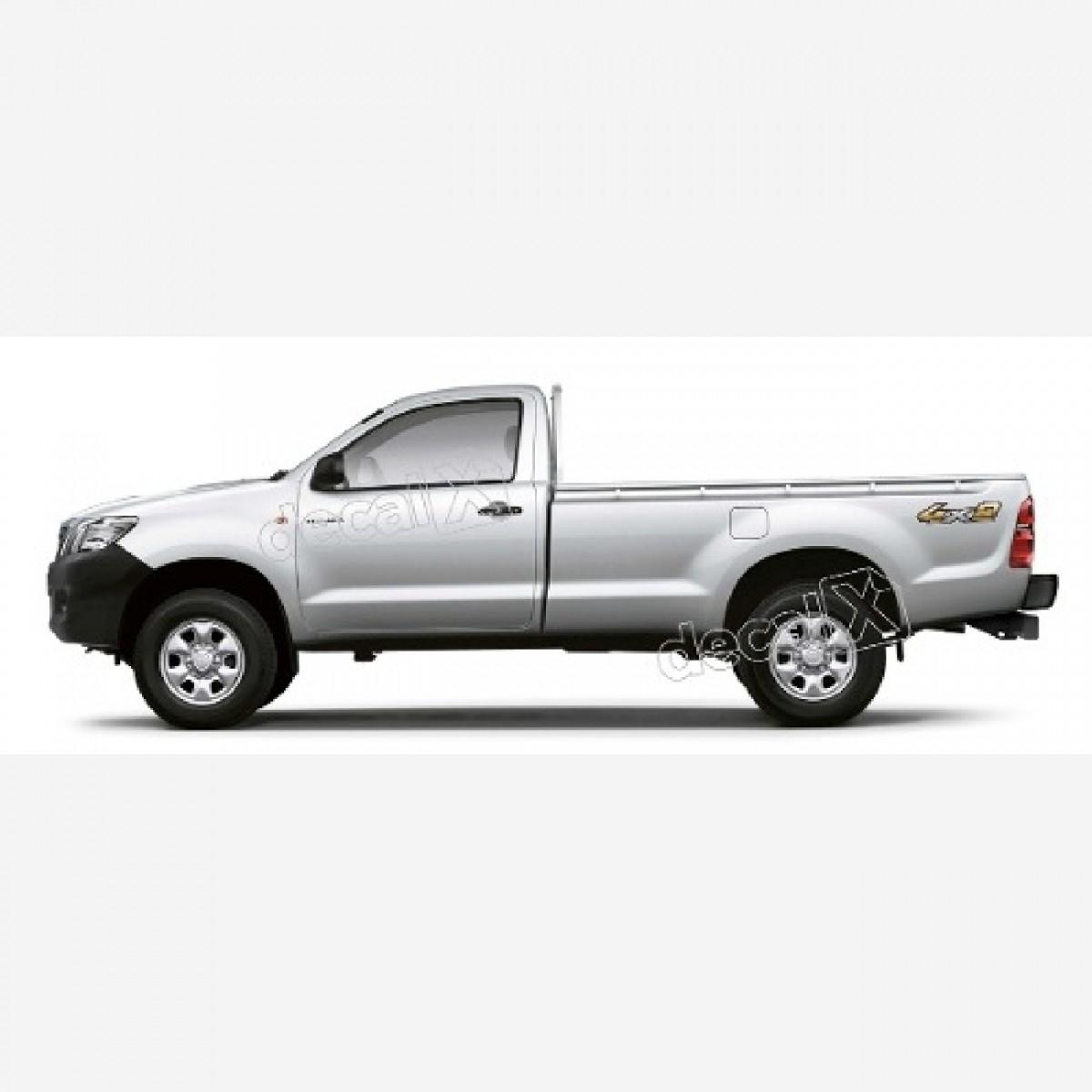 Adesivo Toyota Hilux 4x2 2013 A 2015 Decalx