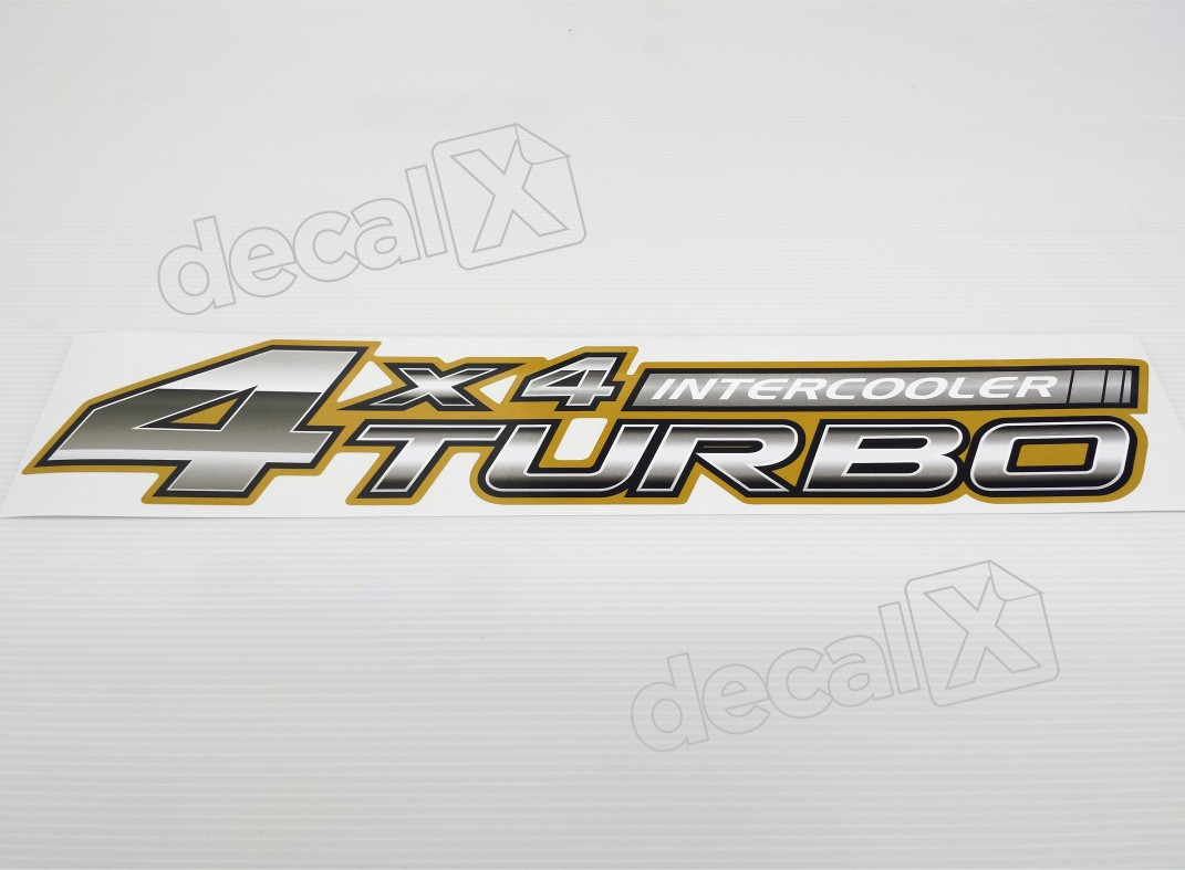 Adesivo Toyota Hilux 4x4 Turbo Intercooler 2006 A 2008